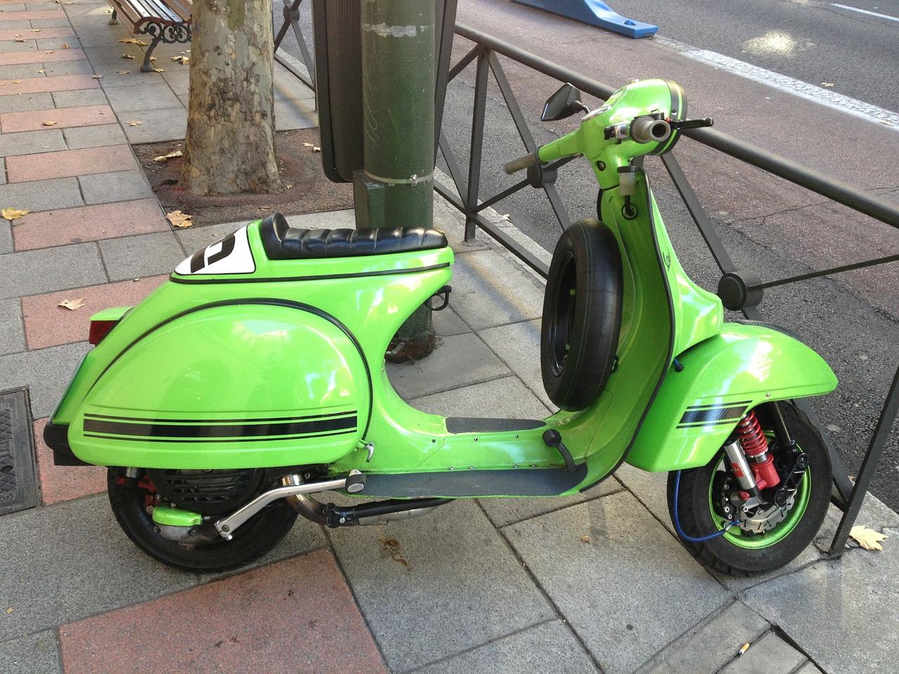 siege et selle de scooter